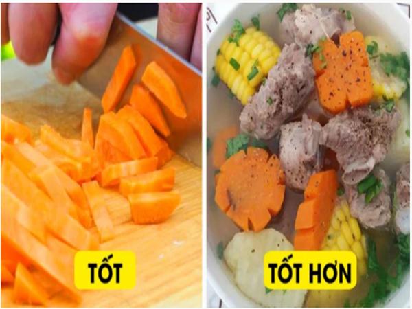 6 thực phẩm thay đổi tác dụng khi ở điều kiện khác nhau