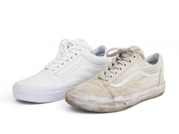 8 mẹo làm sạch giày trắng chỉ mất 1 phút