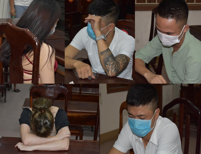 Nhóm thanh niên tụ tập hát karaoke, sử dụng ma túy giữa lúc giãn cách xã hội - Ảnh 1