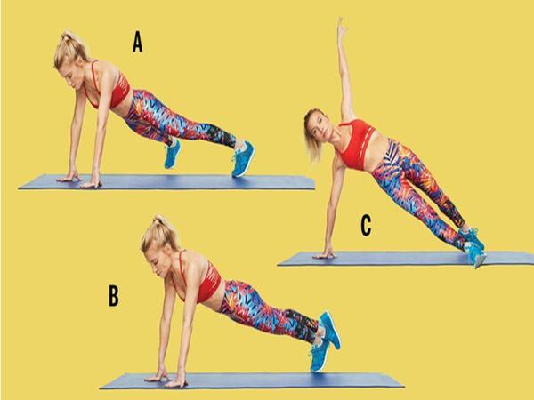5 bài tập giúp bạn có bụng phẳng, săn chắc, eo thon trong thời gian ngắn phù hợp với hầu hết chị em - Ảnh 1