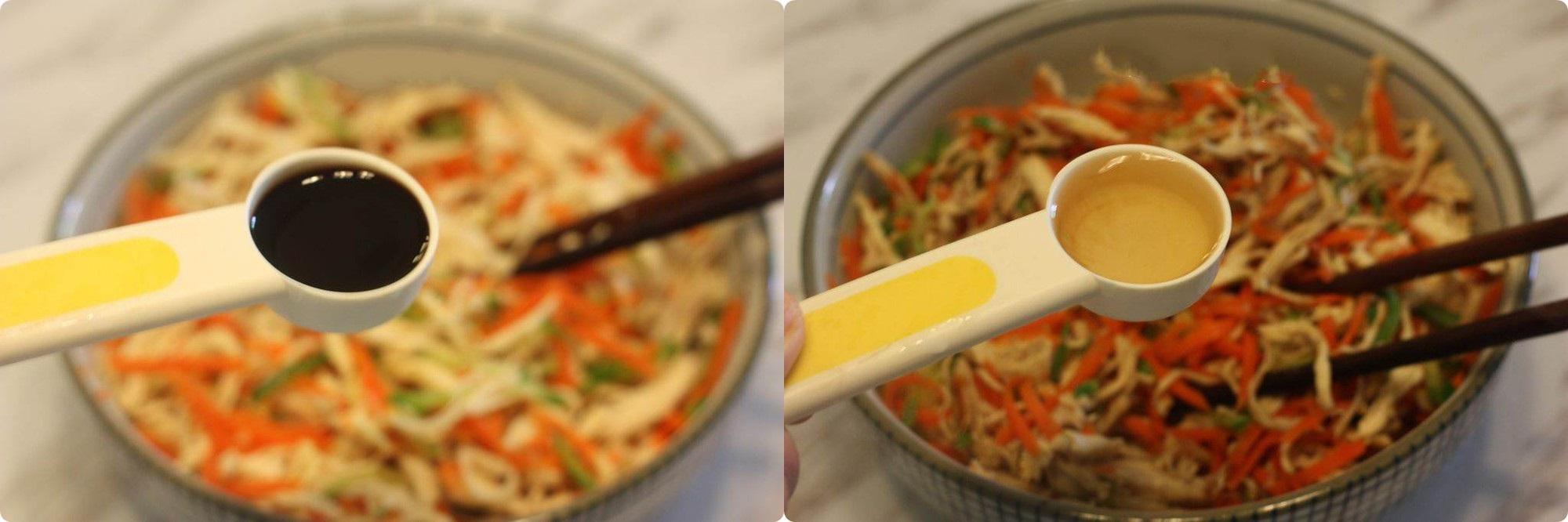 Tận dụng gà cúng giao thừa làm salad gà trộn - món ngon chống ngán ngày Tết - Ảnh 2