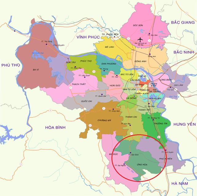 Đề xuất nghiên cứu quy hoạch xây dựng sân bay quốc tế thứ 2 cho Vùng Thủ đô Hà Nội tại Ứng Hòa - Ảnh 1