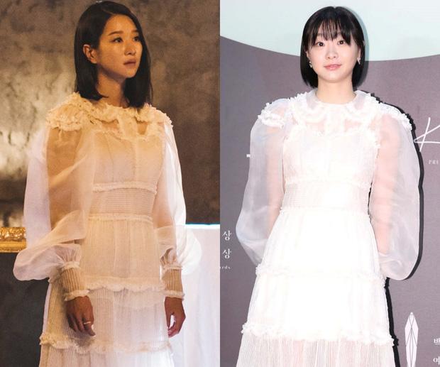 1 chiếc váy 2 số phận: 'Điên nữ Itaewon' bị chê khó cảm, Seo Ye Ji diện lên lại sang hết sức - Ảnh 6