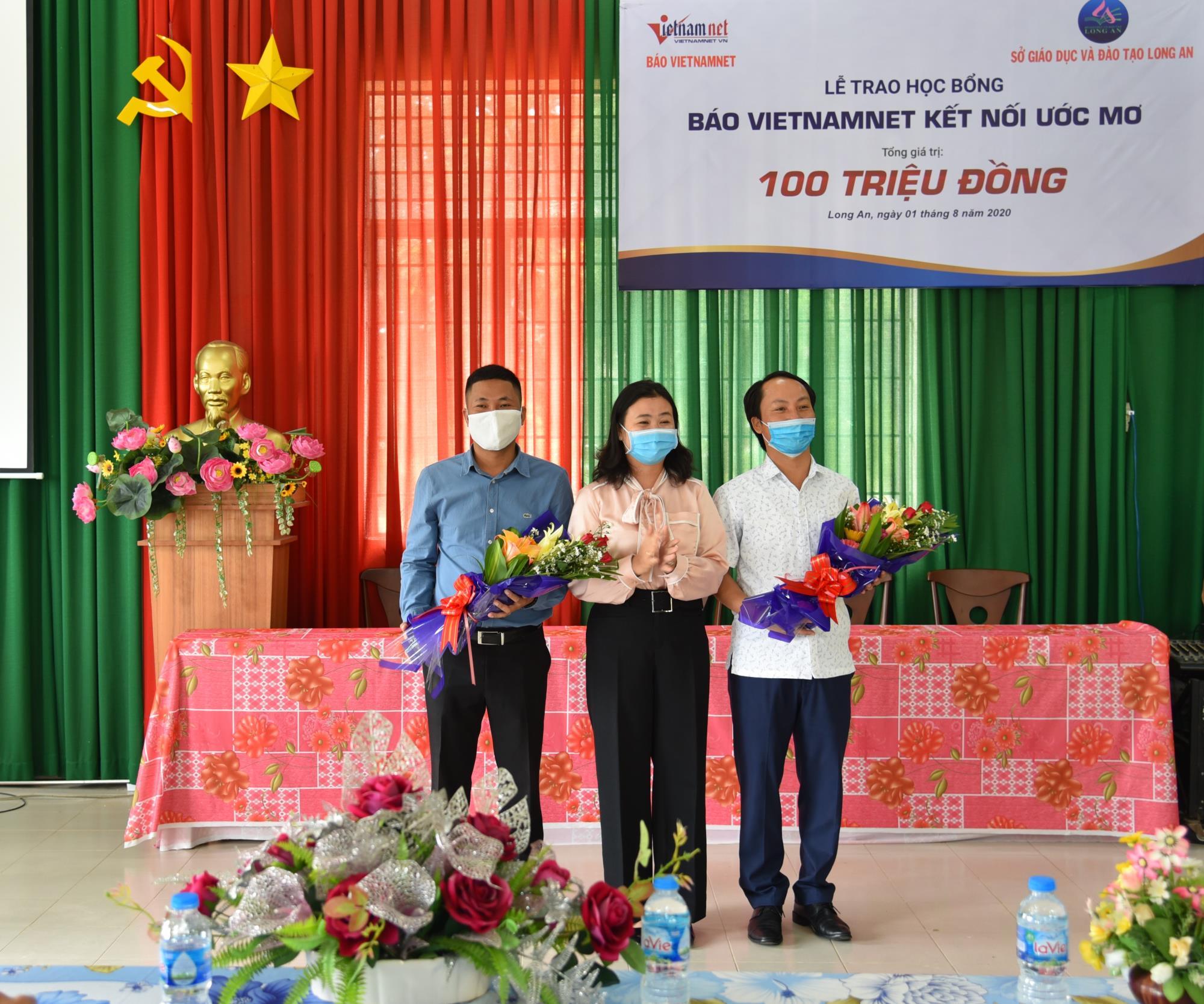 Him Lam Land chắp cánh ước mơ cho học sinh nghèo vượt khó ở Long An - Ảnh 2