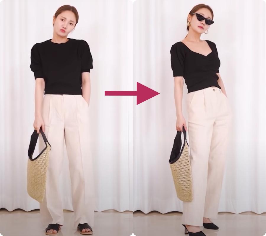 Với mọi style công sở, đây chính là 5 mẹo mặc đồ giúp bạn 'ăn gian cân nặng' cực hiệu quả - Ảnh 4