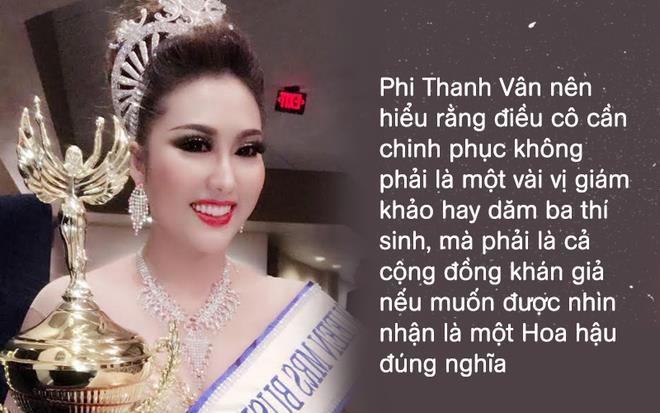 Ai dám mở miệng gọi Phi Thanh Vân là Hoa hậu? - Ảnh 2
