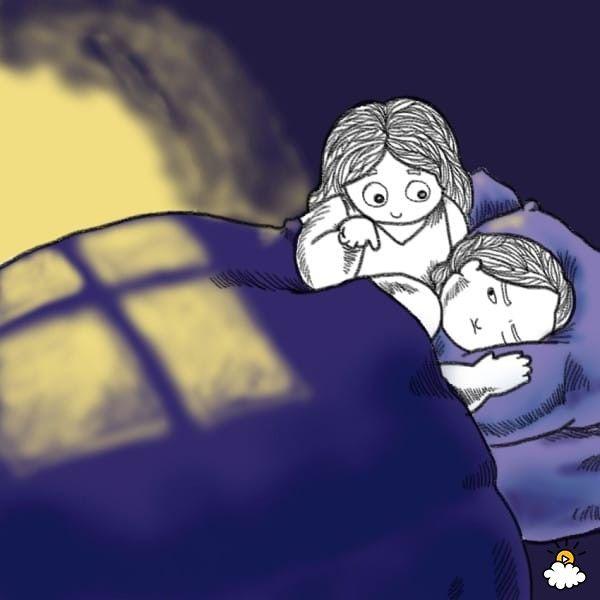 Không nên đánh thức bạn cùng giường.