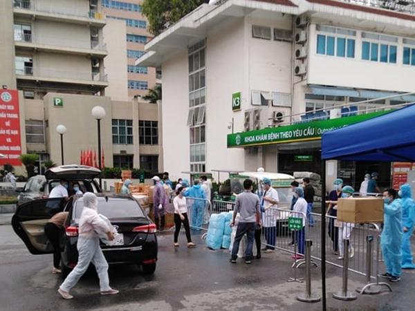 Bệnh viện Bạch Mai cử đoàn cán bộ tham gia phòng, chống dịch Covid-19 tại Đà Nẵng