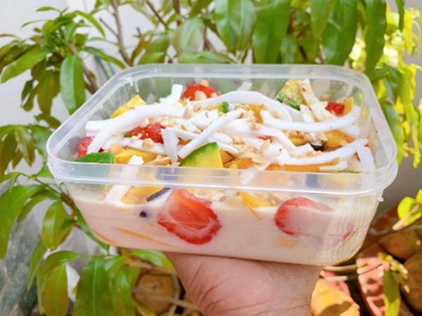 Cách làm kem chuối trái cây béo ngậy, ngọt thơm hạ nhiệt ngày hè