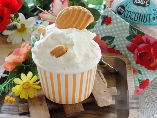 """Cách làm kem sữa dừa thơm béo, lạnh tê lưỡi, ngon """"rụng rời"""" với 3 bước đơn giản"""