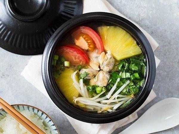 Cách làm món canh ngao nấu chua thanh mát cho ngày nắng nóng