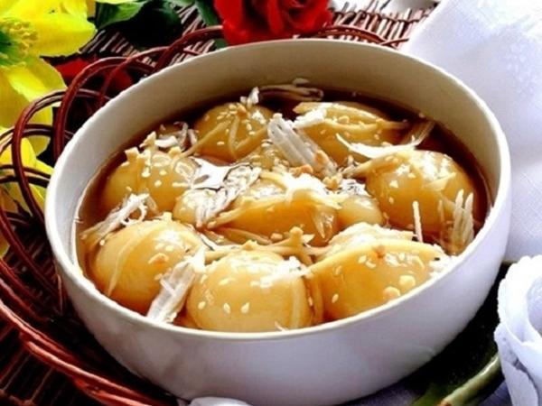 Chè trôi nước - Món ăn vặt lý tưởng ngày cuối tuần se lạnh