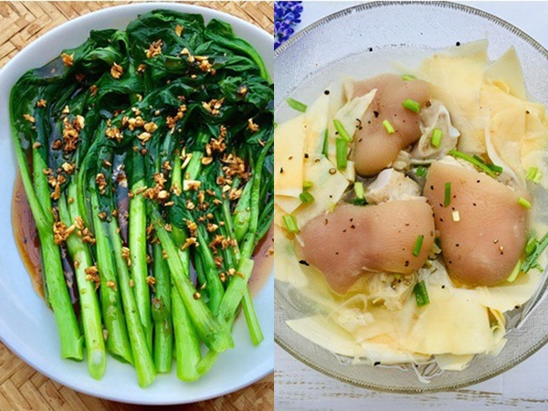 Đầu tuần bận rộn, cơm tối tôi chỉ nấu 2 món mà cả nhà ai cũng khen ngon