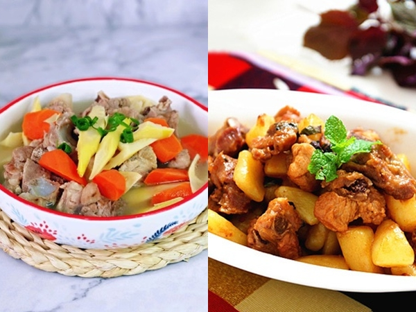 Gợi ý bữa cơm 2 món đủ dinh dưỡng cho nhà ít người