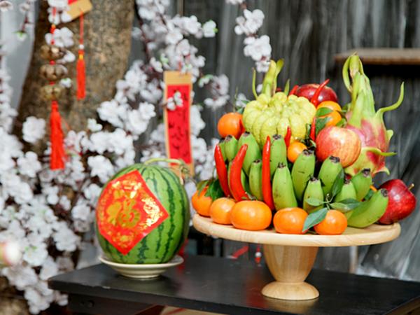 Những loại hoa quả không thể thiếu khi thắp hương cúng Rằm tháng Giêng