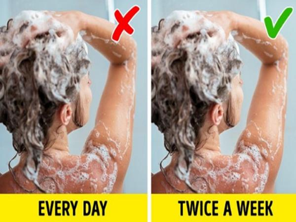 Tắm gội hàng ngày tưởng đơn giản nhưng ai cũng mắc phải 12 sai lầm này