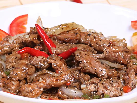 Cách làm món thịt bò rim tiêu thơm ngon cho bữa tối thêm đậm đà
