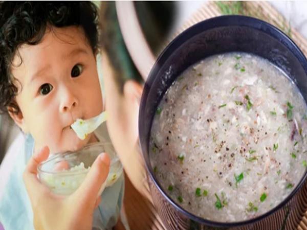 Thực đơn ăn dặm cho bé 8 tháng tuổi giàu dinh dưỡng giúp bé phát triển toàn diện