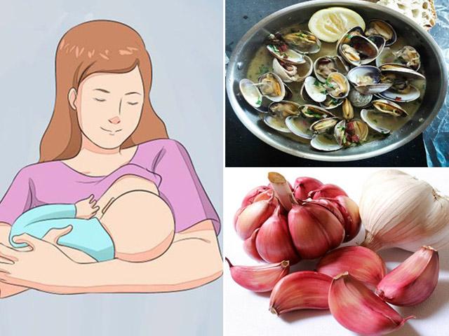 17 thực phẩm mẹ chớ ăn khi đang cho con bú, không thì MẸ TẮT SỮA, CON BỎ BÚ, PHÂN BỌT