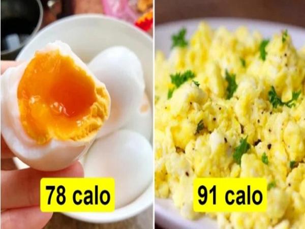 Trứng chưng và trứng luộc, cách chế biến nào tốt hơn?