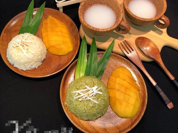 Trổ tài làm món xôi xoài thần thánh ngay tại nhà, ai nhìn cũng tưởng của đầu bếp Thái