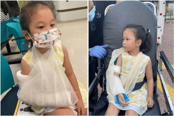 Cảnh báo: Bé gái gãy tay vì kẹt khe cửa kính, chi tiết nhỏ cha mẹ ít quan tâm nhưng hiểm họa khôn lường