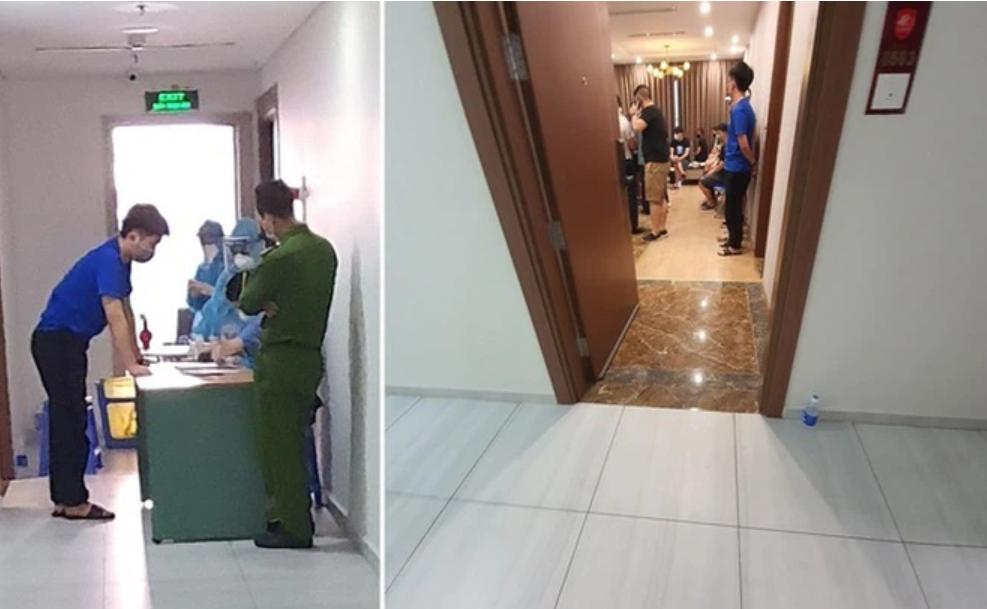 Hà Nội phát hiện nhóm 40 người Trung Quốc nhập cảnh trái phép, thuê chung cư sống - Ảnh 1