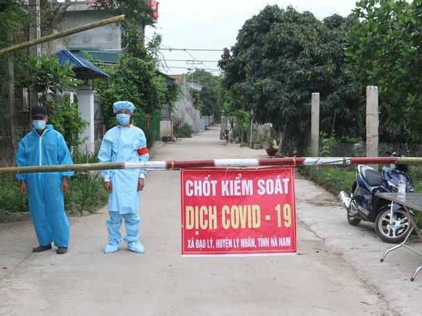 Hà Nam: Có thêm 2 ca dương tính lần 1 với SARS-CoV-2