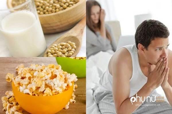 Những thực phẩm làm giảm ham muốn vợ chồng cần tránh xa - Ảnh 1