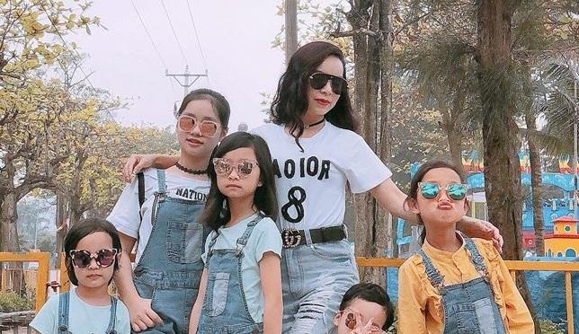 Ghen tị với bà mẹ 35 tuổi có 6 con gái vẫn trẻ xinh như gái son, đi xe tiền tỷ, kiếm chơi hơn trăm triệu/tháng