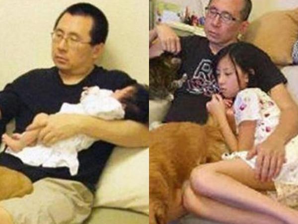 Loạt ảnh ngày ấy và bây giờ trong 10 năm của bố và con gái gây sốt mạng xã hội