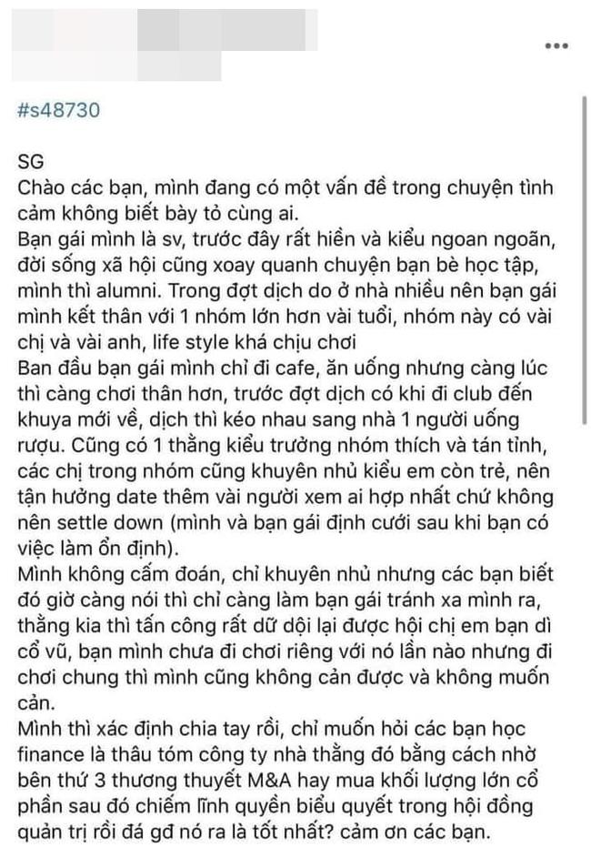 Cựu sinh viên Đại học quốc tế đắt đỏ nhất Việt Nam kể chuyện tình địch 'cua' bạn gái và pha trả thù cực gắt chuẩn trai nhà giàu đang khiến dân mạng ngỡ ngàng - Ảnh 2