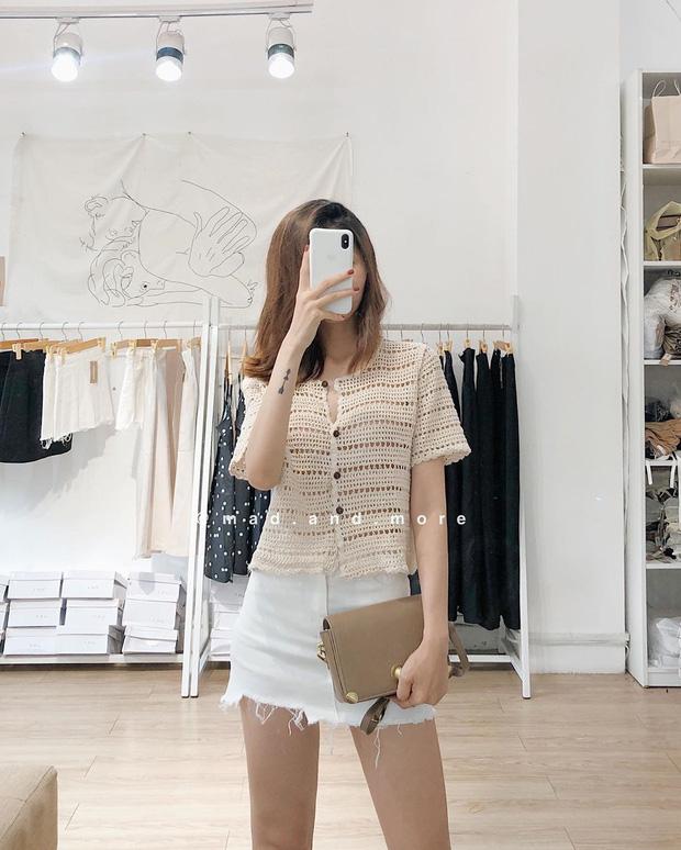 Kiểu áo bạn nên sắm trước tiên thu này chính là cardigan len móc, diện lên xinh chuẩn Hàn Quốc - Ảnh 3