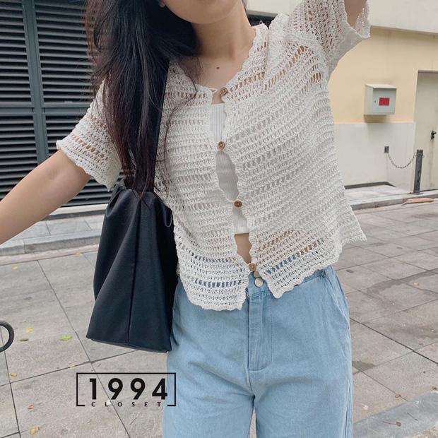 Kiểu áo bạn nên sắm trước tiên thu này chính là cardigan len móc, diện lên xinh chuẩn Hàn Quốc - Ảnh 5