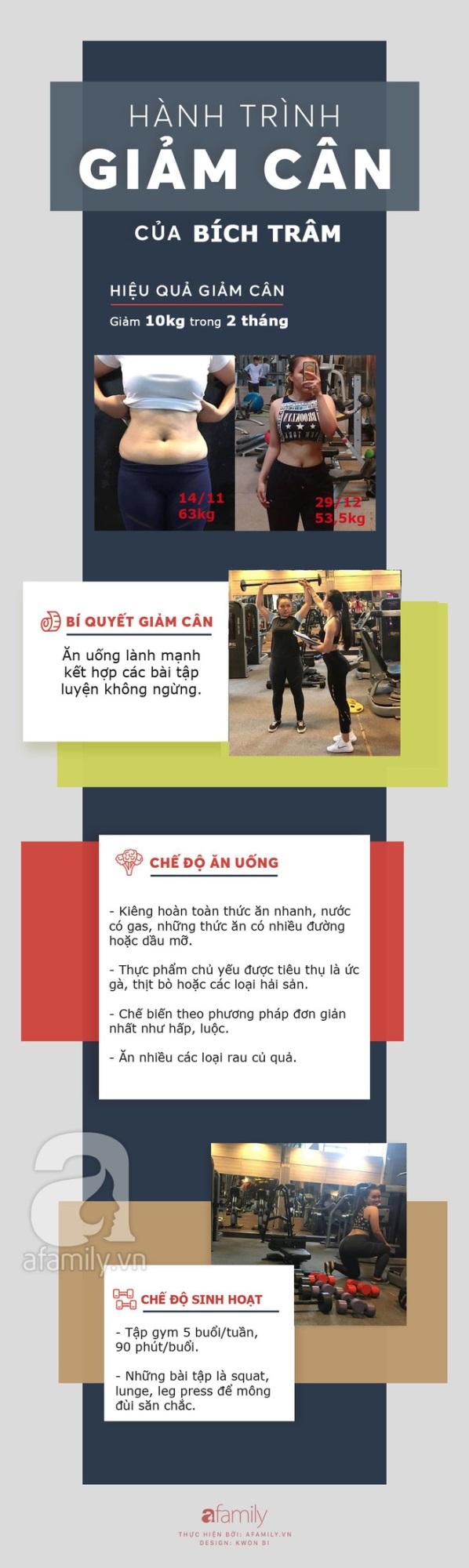 Giảm 10kg chỉ sau 2 tháng tập gym theo hướng dẫn của huấn luyện viên, cô gái trẻ sở hữu thân hình nuột nà, tự tin đón Tết - Ảnh 8