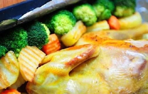 Công thức chế biến gà nướng rau củ ngon lạ miệng - Ảnh 2