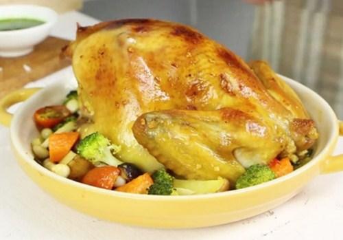 Công thức chế biến gà nướng rau củ ngon lạ miệng - Ảnh 3