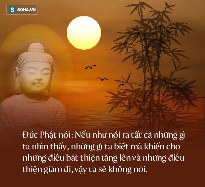 Đức Phật dạy: Những lời này, càng không nói sẽ càng tích được thêm phúc đức, ai cũng nên biết - Ảnh 1