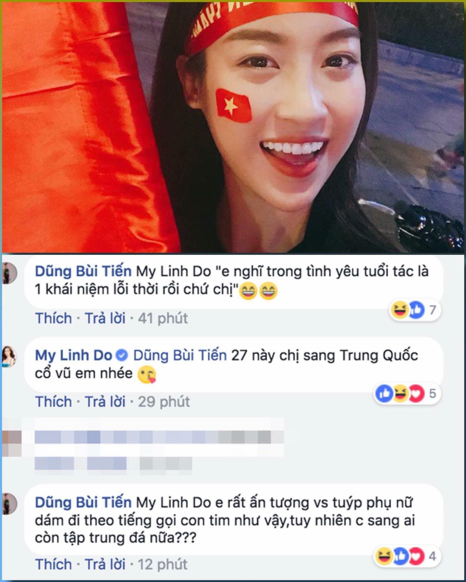 Không ồn ào, Hoa hậu Phạm Hương lặng lẽ làm điều này với Bùi Tiến Dũng - Ảnh 2