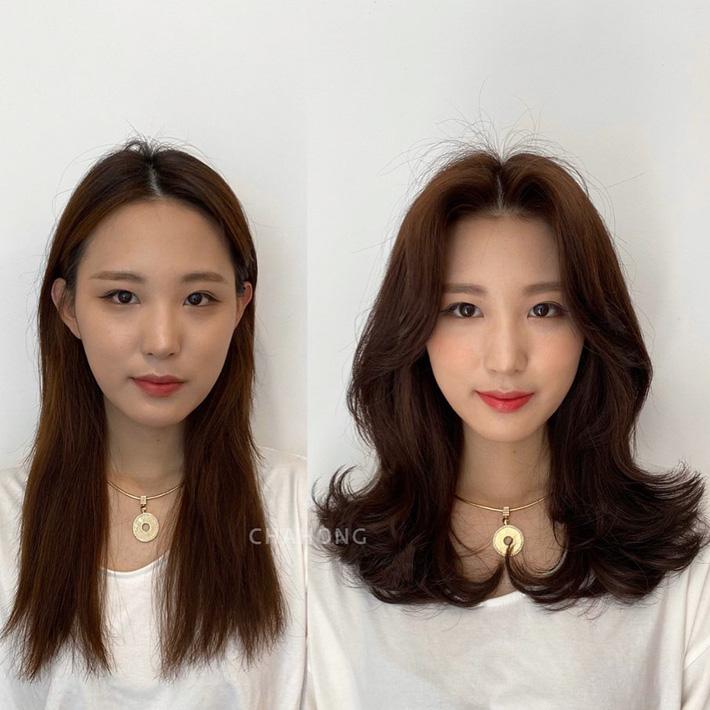 """10 pha """"biến hình"""" chứng minh tóc mái vi diệu thật, chị em trán hói mấy cũng 'lột xác' xinh sang hết sức - Ảnh 8"""