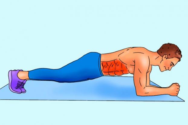 Bài tập 10 phút mỗi ngày cho cơ bụng 6 múi cuồn cuộn không cần đến phòng gym - Ảnh 3