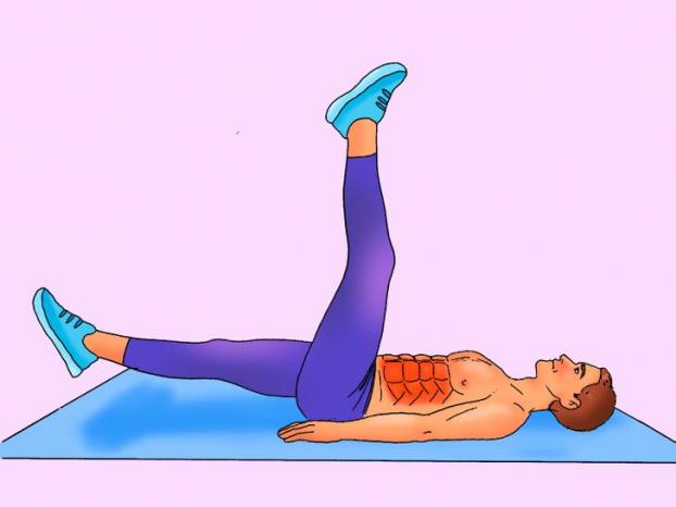 Bài tập 10 phút mỗi ngày cho cơ bụng 6 múi cuồn cuộn không cần đến phòng gym - Ảnh 8