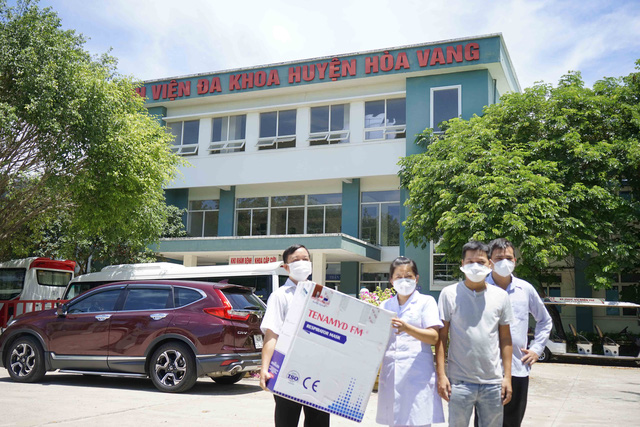 5 bệnh viện ở Đà Nẵng tiếp nhận 10.000 khẩu trang N95 chống dịch Covid-19 - Ảnh 1