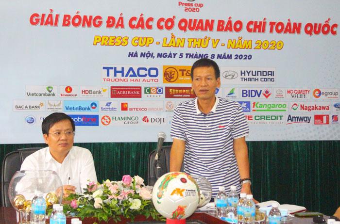 Hà Nội: Tổ chức bốc thăm vòng loại Press Cup 2020 - Ảnh 3