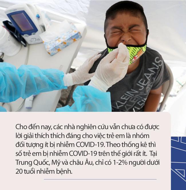 Những bí ẩn về trẻ em và đại dịch Covid - 19: Ít gây nguy hại với trẻ dưới 18 tuổi nhưng trẻ dưới 5 tuổi nhiễm Covid-19 có thể mang lượng virus gấp 10 - 100 lần so với người lớn - Ảnh 2