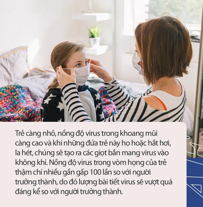 Những bí ẩn về trẻ em và đại dịch Covid - 19: Ít gây nguy hại với trẻ dưới 18 tuổi nhưng trẻ dưới 5 tuổi nhiễm Covid-19 có thể mang lượng virus gấp 10 - 100 lần so với người lớn - Ảnh 4