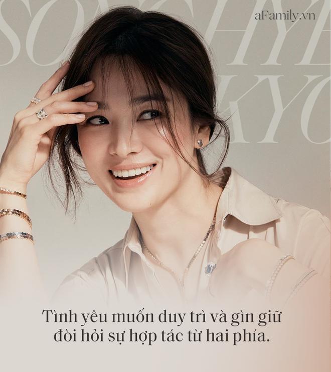 Song Hye Kyo 'đá xoáy' chồng cũ Song Joong Ki trong bài phỏng vấn mới: Nhấn mạnh sự 'phức tạp' tới 3 lần, khẳng định tình yêu phải được giữ gìn từ hai phía? - Ảnh 2