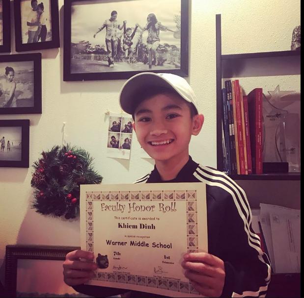 'Út Ráng' Kim Hiền tự hào khoe thành tích học tập đáng nể của con trai  - Ảnh 4