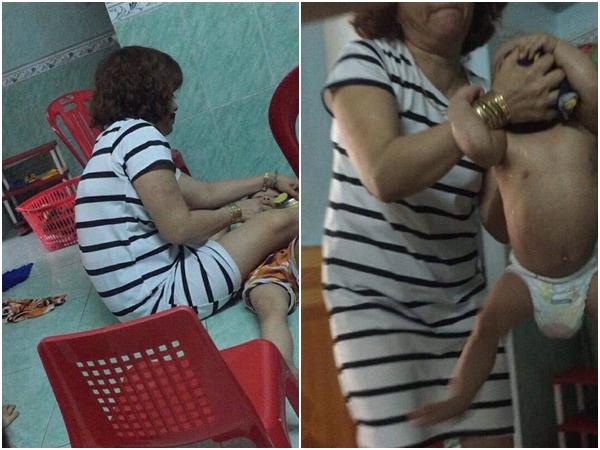 Bảo mẫu khai nguyên nhân bịt mặt, bạo hành bé 1 tuổi đến giãy giụa ngạt thở