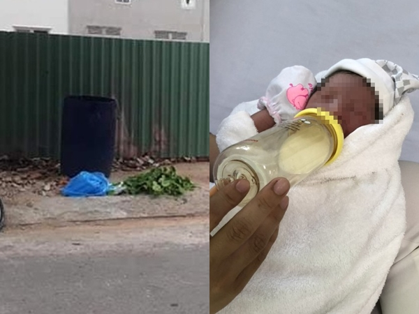 TPHCM: Bé trai sơ sinh bị bỏ trong túi nylon quấn băng keo, vứt trong thùng rác